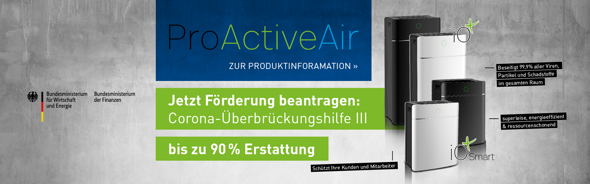 Produktinformation ProActiveAir
