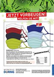 Flyer Mundschutz